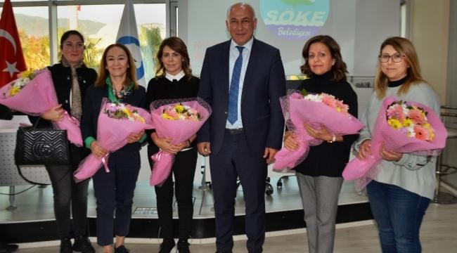 Başkan Tuncel Kadın Hakları Günü'nü unutmadı