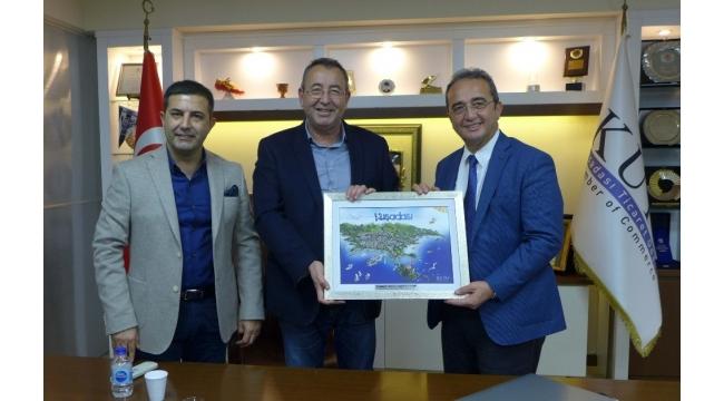 CHP Aydın Milletvekili Bülent Tezcan'dan KUTO'ya ziyaret
