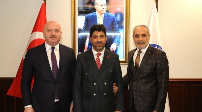 Cumhurbaşkanı Başdanışmanından Rektör Aldemir'e ziyaret