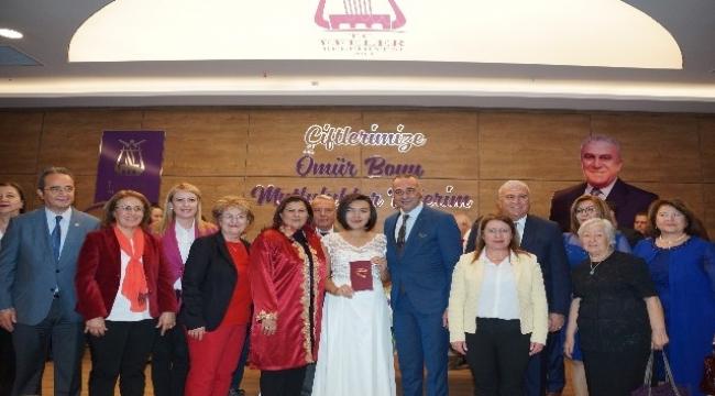 Nevzat Biçer Nikah Salonu, Kadın Hakları Günü'ndeaçıldı
