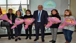 Söke Belediye Başkanı Tuncel Kadın Hakları Günü'nü unutmadı
