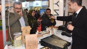Aydın Tarım Fuarının en rağbet gören standı Germencik Belediyesi'nin İnya Markası oldu