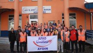 Aydın'da AFAD gönüllülerine ilk yardım eğitimi verildi