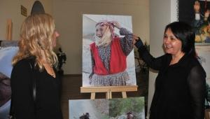 Aydın'da yörük kültürü fotoğraf ve resimlerle anlatıldı