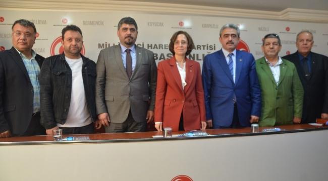 Alıcık farkını gösterdi Aydın'da MHP'ye 2 Bin Üye kaydoldu