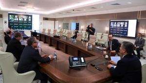 Sağlık Bakanı Koca Aydın Sağlık Müdürü Açıkgöz ile görüştü