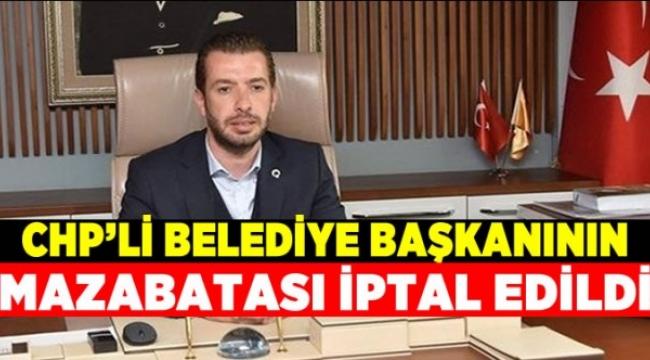 YSK belediye başkanının mazbatasını iptal etti