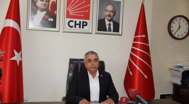 CHP İl Başkanı Çankır: