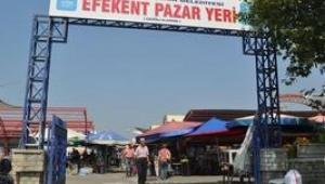 Efeler Belediyesinden kapalı pazar yerine alternatif çözüm