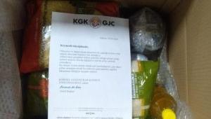 Küresel Gazeteciler Konseyinin gıda paketleri yola çıktı