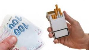 Sigaradan alınan asgari maktu vergi tutarı artırıldı