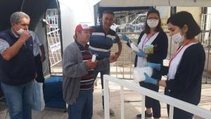 Efeler Belediyesi koronavirüse karşı en doğru tedbirleri uyguluyor