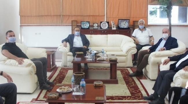 Kuyucak Belediye Başkanı Ertürk'ten ATB'ye ziyaret