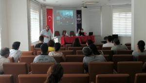EFELER BELEDİYESİ'NDEN ÇALIŞANLARA İŞ SAĞLIĞI EĞİTİMİ