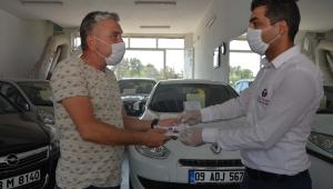 Efeler Belediyesi'nden OTONOMİ esnafına korona virüs desteği