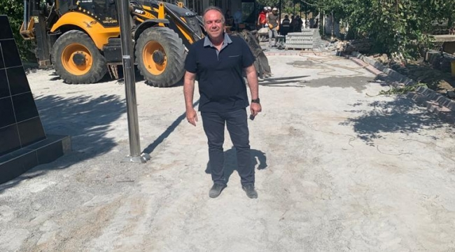 GERMENCİK BELEDİYE BAŞKANI FUAT ÖNDEŞ'TEN HAFTA SONU MESAİSİ