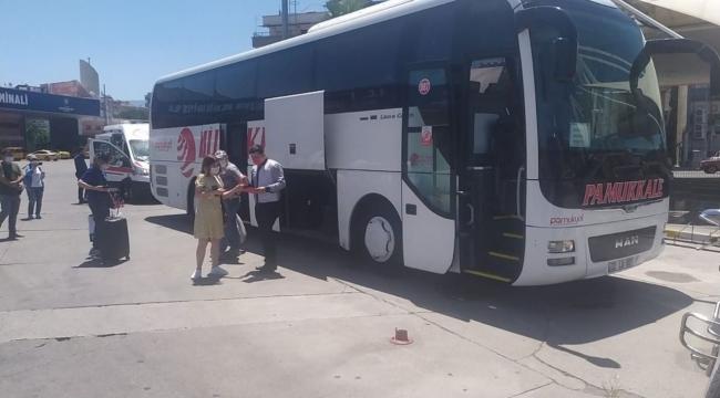 Karantina süresi dolan yolcu ekipleri harekete geçirdi