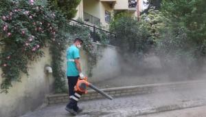 Efeler'in dört bir yanında temizlik çalışması yapıldı