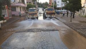 Sel afetinden zarar gören evler için Nazilli Belediyesi seferber oldu