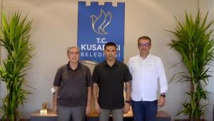 AydınASKF Başkanı Kaplan, Başkan Günel ile görüştü