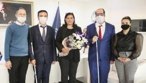 Altı Nokta Körler Derneği, Başkan Çerçioğlu ile bir araya geldi