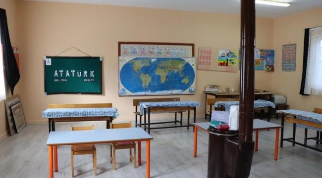 Nazilli Belediyesi Hisarcık İlkokulu'nu yeni görünümüne kavuşturdu